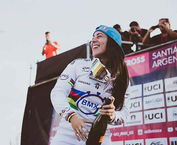 Mariana Pajón campeona mundial de BMX