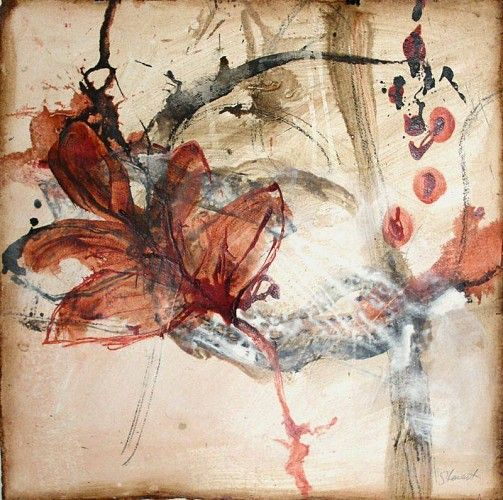 Allison Stewart, Water Notes #13 2006, Mixed media on paper