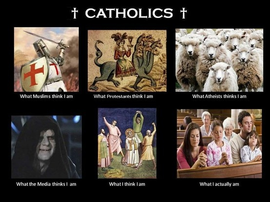 So true...gotta love being a Catholic...most exciting thing in the world...