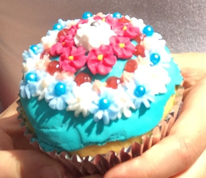 I entered this cupcake into a competition and came second #competition #cupcake #yum