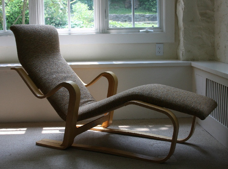 Marcel Breuer Isokon Long Chair- Mid Century Modern Chaise Lounge Chair. : mid century modern chaise lounge chairs - Sectionals, Sofas & Couches