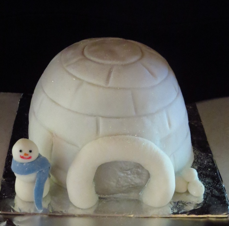 Snow in Cape Town, Christmas Cake