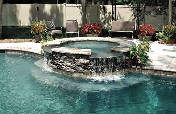 15 Best Images About Gunite Spas On Pinterest The O 39 Jays Waterfalls And Image Search