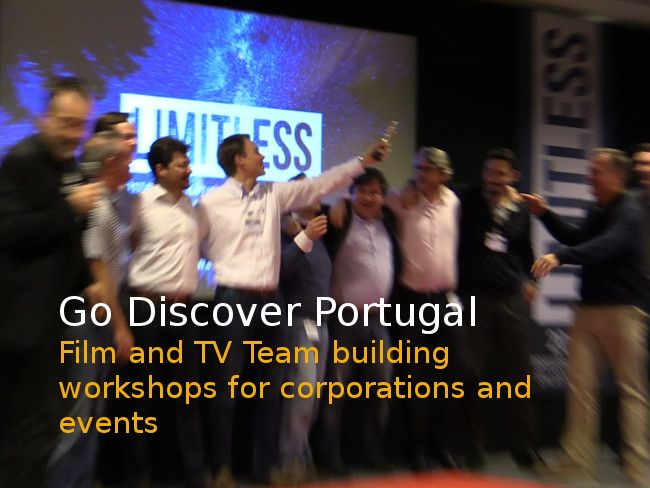 Film production Team Building Portugal for corporations and events - Go Discover Portugal travel