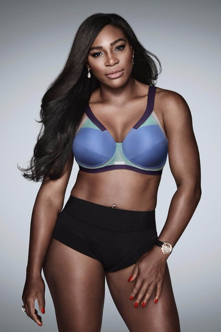 23bd8a9e00 Women With Bigger Busts Will Rejoice Over Serena Williams s Instagram  Announcement
