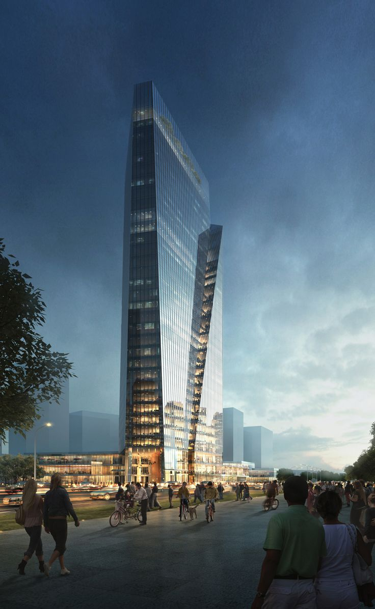 Hangzhou New South North Mixed-use Project is set to be a brand new riverfront landmark with iconic twin towers and dynamic retail podiums.