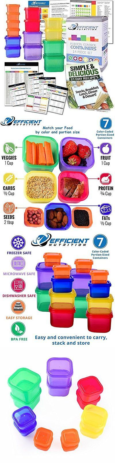 Fitness DVDs 109130: Portion Control Containers Deluxe Kit (14-Piece) With Complete Guide + 21 Day -> BUY IT NOW ONLY: $97.05 on eBay!