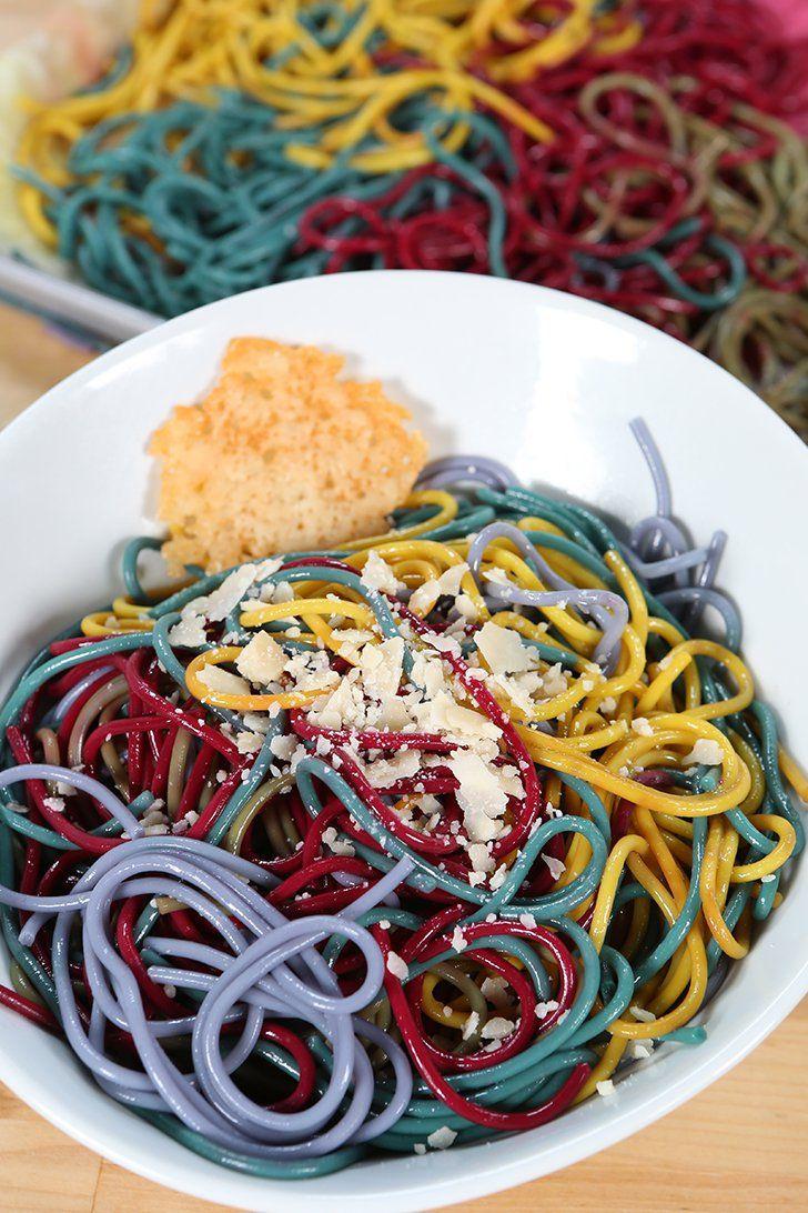 Rainbow Pasta #GetTheDish