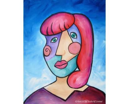 Self-portraits: Picasso Style