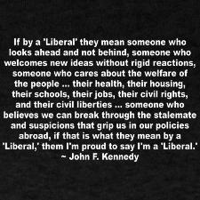 "Exactly :o) Liberal and conservative both are such ""dirty"" words nowdays, and they shouldn't be."