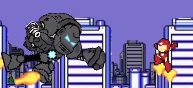O Homem de Ferro em animação com game de 8-bit - Assuntos Criativos