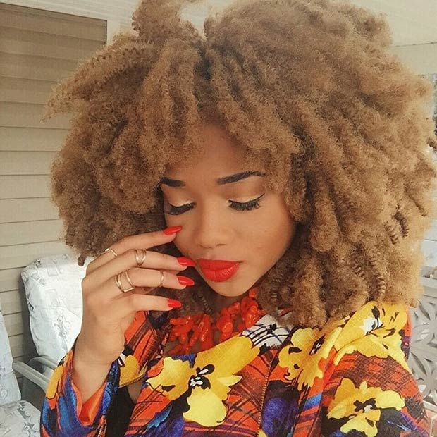 41 Chic Crochet Braid Hairstyles For Black Hair Braid