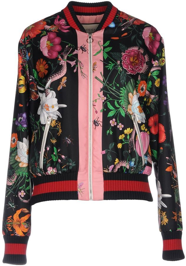 9609e20ac08 GUCCI Jackets #ShopStyle #MyShopstyle #fallfashion #wearitloveit # Women  bomber jacket #quilted #wool #leather #fleece # camouflage # Faux-fur click  for ...