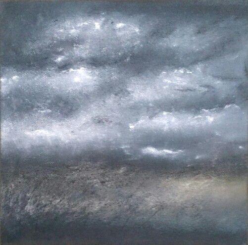 o.t. mixed media on canvas. 30x30.2016.