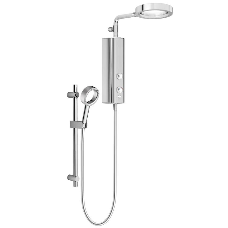 SHOP the AQUAS AquaMax Flex Manual X-Jet 9.5KW Full Chrome Electric Shower at Victorian Plumbing UK