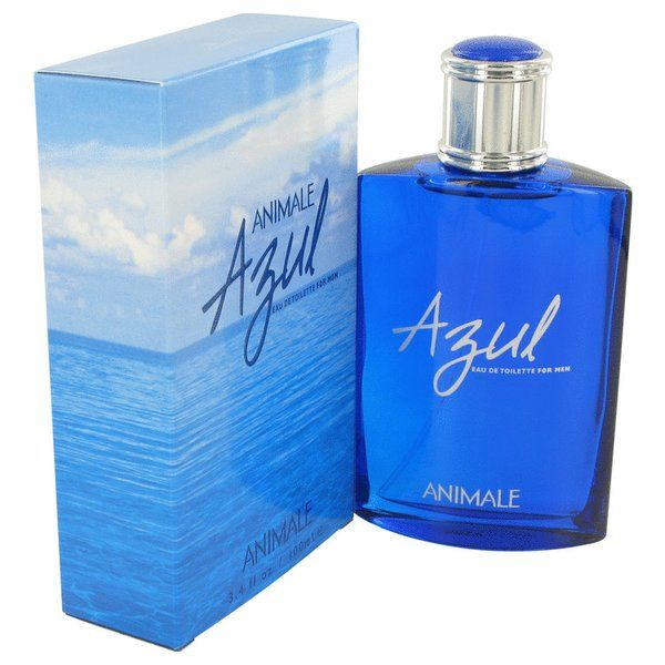 Animale Azul Cologne 100ml EDT Men Spray | This refreshing seductive fragrance is filled with fruits and florals. The top notes have a medley of orange blossoms and freesia. The base notes are vetiver leather and oakmoss. This fragrance is recommended for romantic evening use.