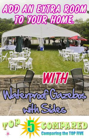 Waterproof Gazebo with Sides