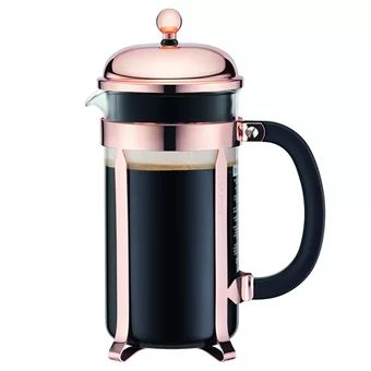 Buy Bodum 8-Cup Chambord Classic Coffee Maker 34 oz(Copper) online at Lazada. Discount prices and promotional sale on all. Free Shipping.
