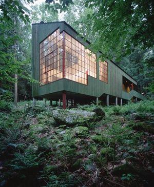 Forest House, Connecticut by Bohlin Cywinski Jackson