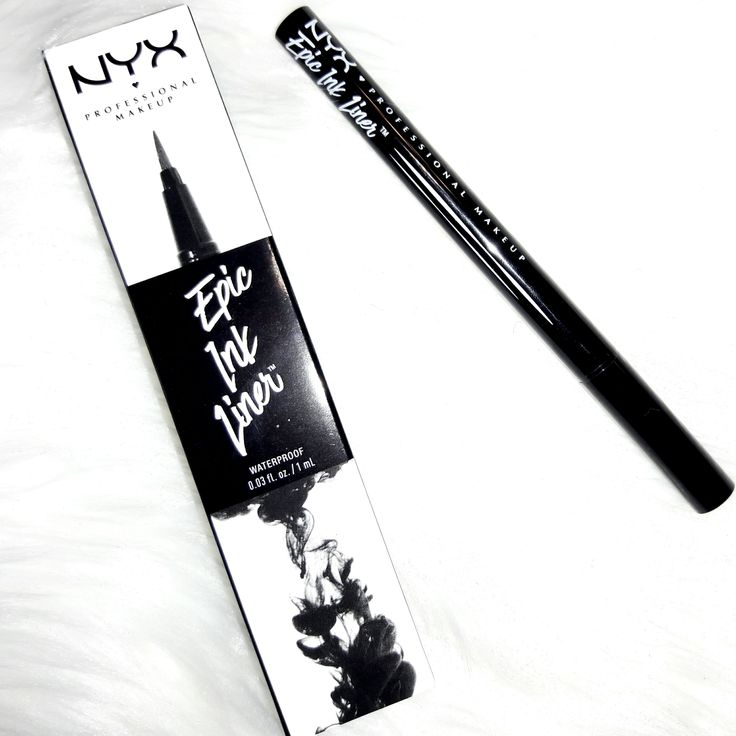 NYX Epic ink Eyeliner! Hands down HG eyeliner pen I have every used!!