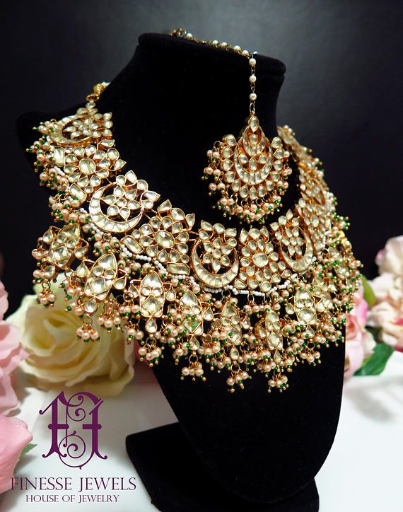 Hard-Working Indian Red Drop Sets Kundan Gold Plated Choker Earring Ethnic Indian Culture Jewelry Sets Jewelry & Watches