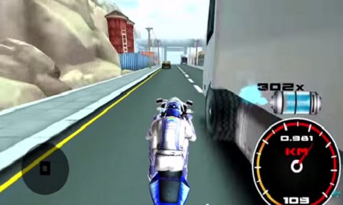 #TheftBiker #3DBikeRacing Push the accelerator and use high powered turbo machine, avoiding death & chase your #opponents.