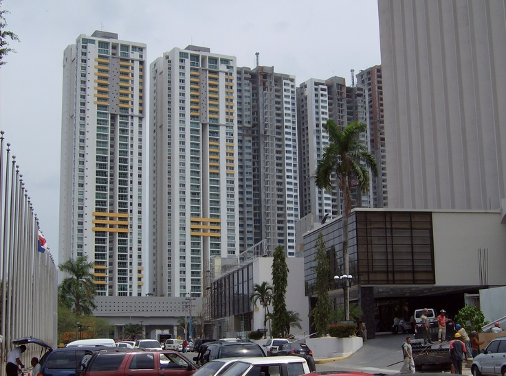 Hi-rises in Panama City