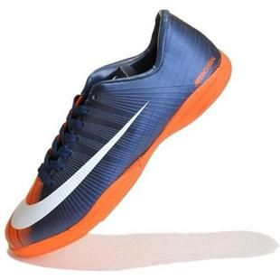 http://www.asneakers4u.com Discount Nike Mercurial Vapor Superfly II Victory IC Indoor Football Shoes In Blue White Orangeout of stock