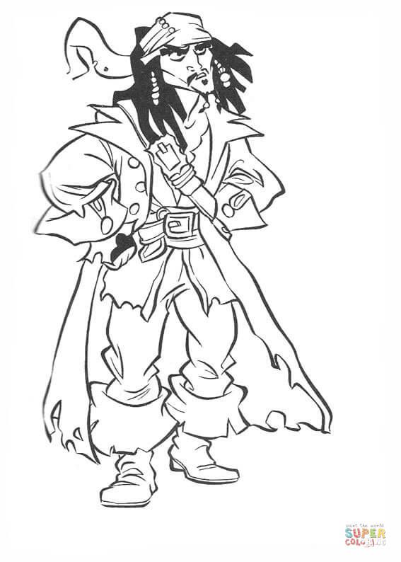 Jack Sparrow Colouring Pages Coloring Pages Cool Coloring Pages Pirates Of The Caribbean