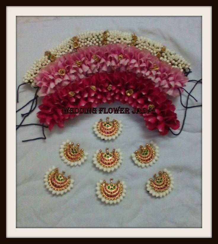 Wedding Kondai Hairstyle: 2754 Best Images About Gajra * On Pinterest