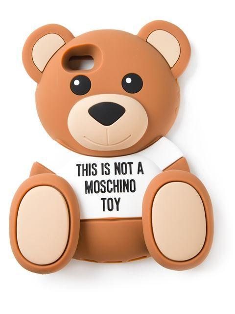 Shop Moschino Teddy bear iPhone 5/5c case in D'Aniello from the world's best independent boutiques at farfetch.com. Over 1000 designers from 300 boutiques in one website.