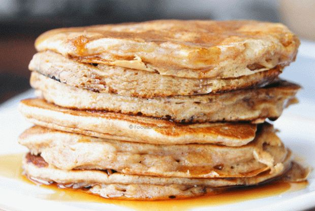 Suikervrije en Tarwevrije American Pancakes