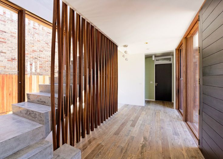 """Interior shot of a house in Sydney designed to """"look better in 20 years""""."""