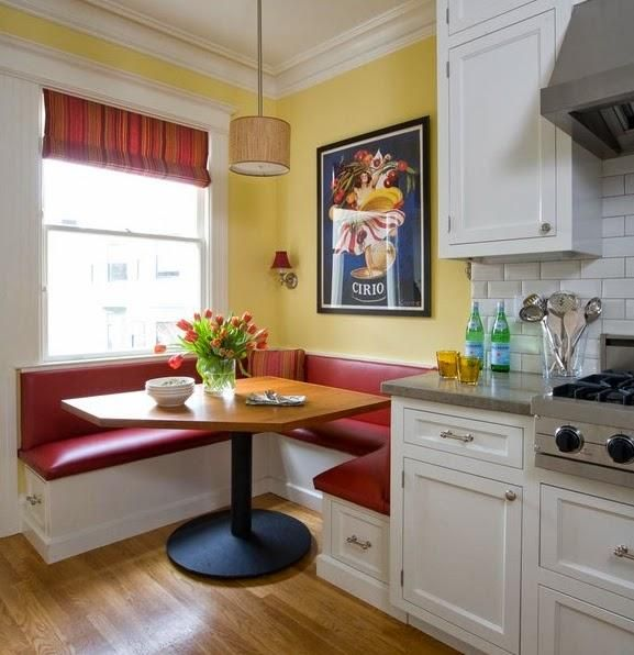 Best 25+ Kitchen Corner Booth Ideas On Pinterest