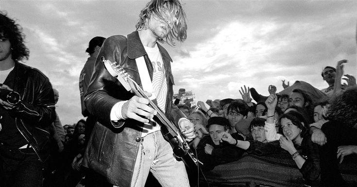 Kurt Cobain's 'Incesticide' Painting to Debut at Seattle Art Fair #headphones #music #headphones
