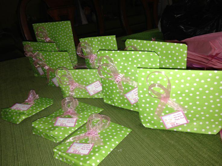 Empate de regalos baby Shower