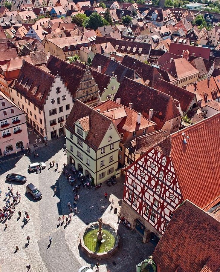 Rothenburg ob der Tauber, Germany, Currency: Euro Photo by instagram.com/rale_p