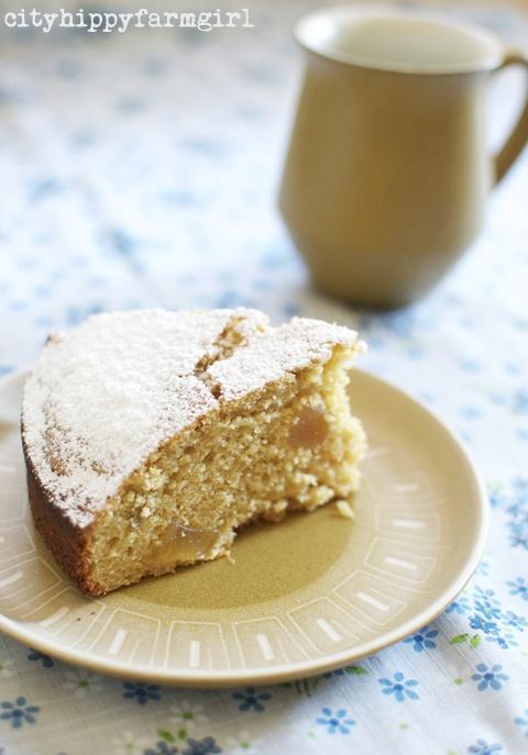 Pear Ginger Cake