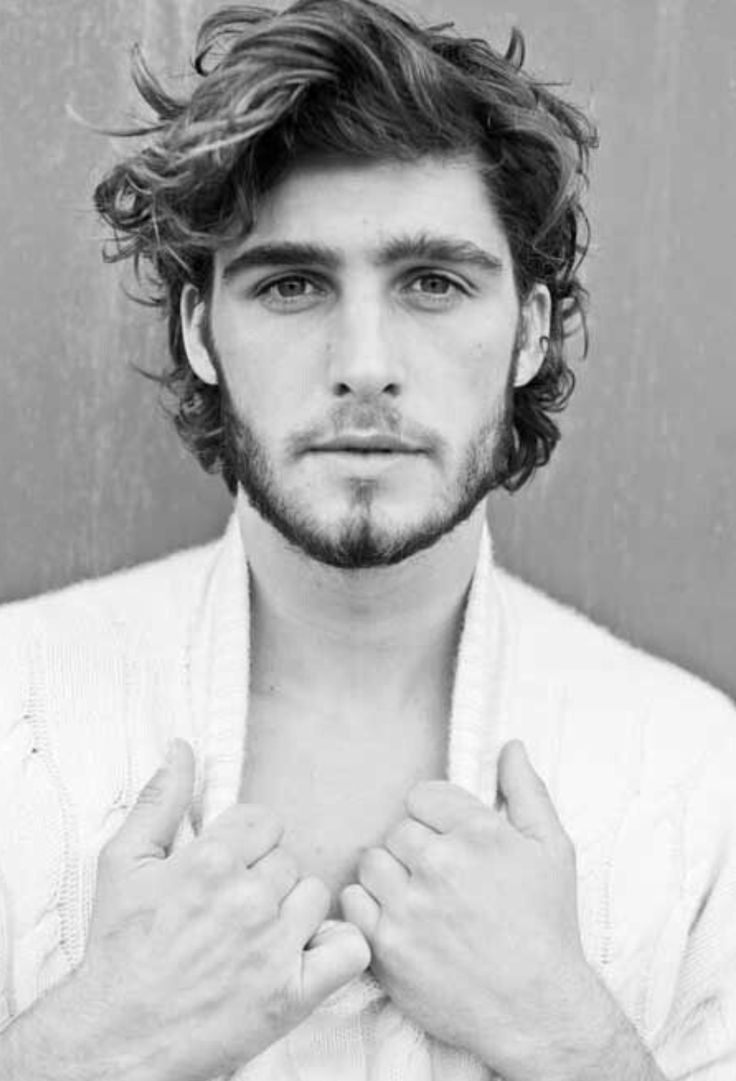 Cool Men Hairstyles with Thick Wavy Hair #Menshairstyles | Mens ...