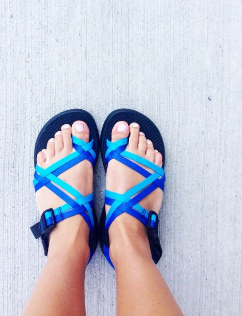 I got a pair of chacos like these for my bday but they're black!! Can't wait til it gets warm so I can wear them