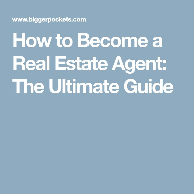 toronto how to become a real estate agent