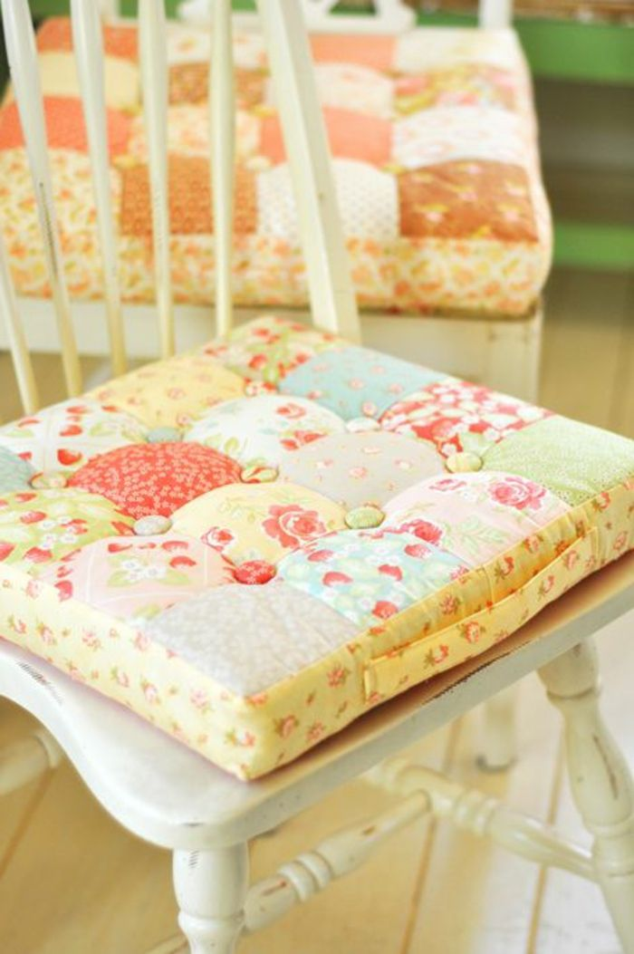 best 25 galette de chaise ideas on pinterest diy. Black Bedroom Furniture Sets. Home Design Ideas