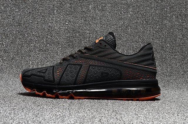 5e530c0c64684 Reasonable Price Nike Air Max Flair AIR Black Orange Men's Shoes ...