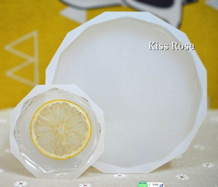 Diamond round mold resin mold round coffee cup mat resin
