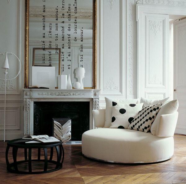 17 appartements qui mixent l'ancien et le contemporain…. | Moltodeco, le blog déco et design d'Emmanuelle Paris