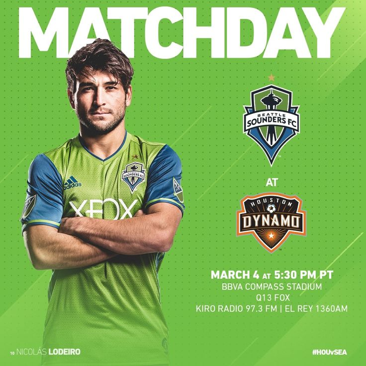 """It's time to defend the MLS Cup! Get ready—it's Sounders Matchday"