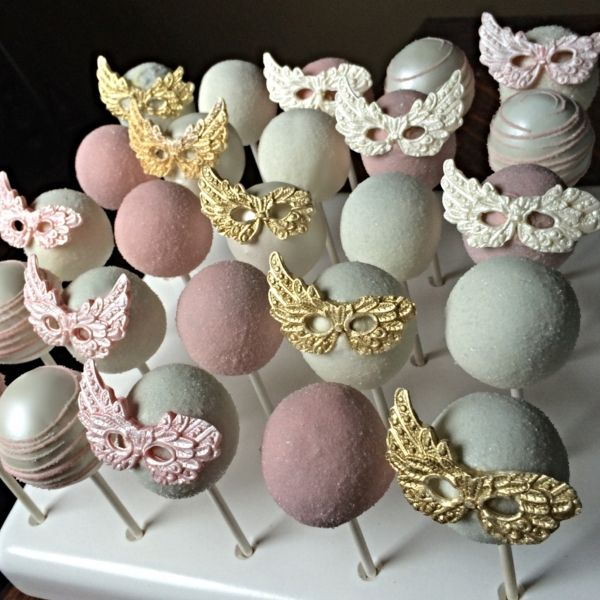 Masquerade Cake Pops