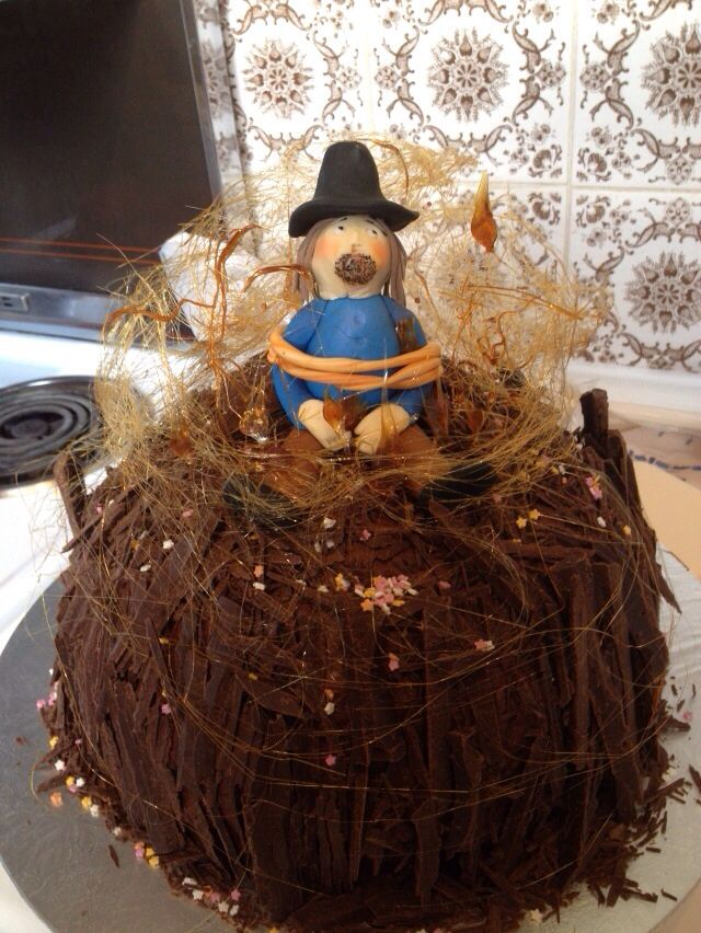 Guy Fawkes cake