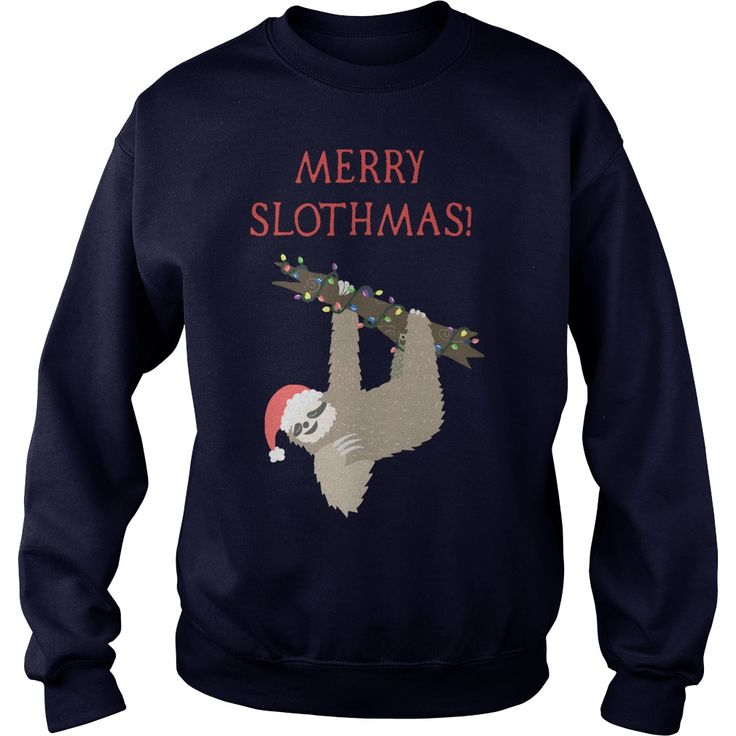 Funny Christmas Sloth Sweater, Hoodie, LongSleeve and shirt