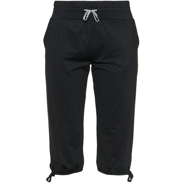 Röhnisch Black Plus Size Jersey jogging bottoms ($50) ❤ liked on Polyvore featuring activewear, activewear pants, black, plus size, plus size activewear pants, plus size jerseys, plus size activewear, plus size sportswear and womens plus size activewear